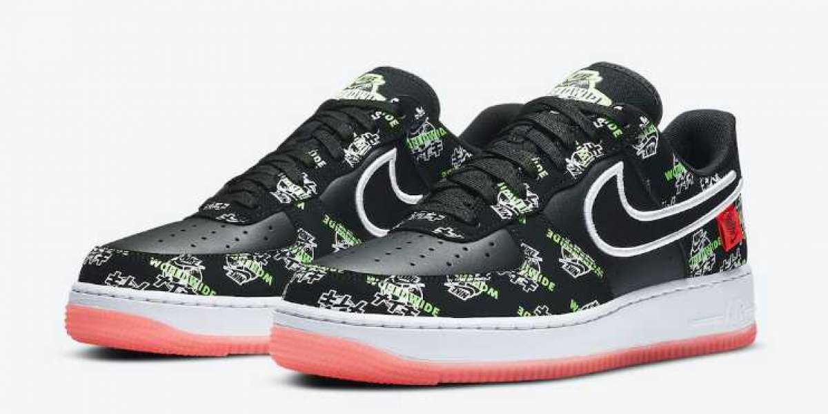 Latest Nike Air Force 1 Worldwide Pack Release Black Coloror