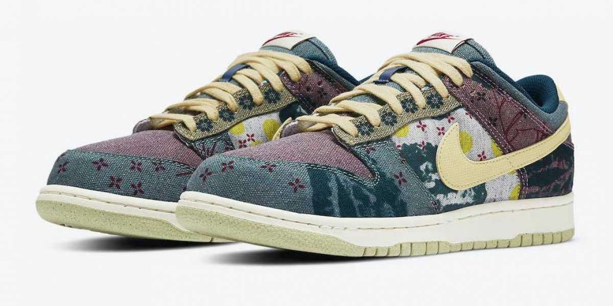 New Arrive Nike Dunk Low Community Garden