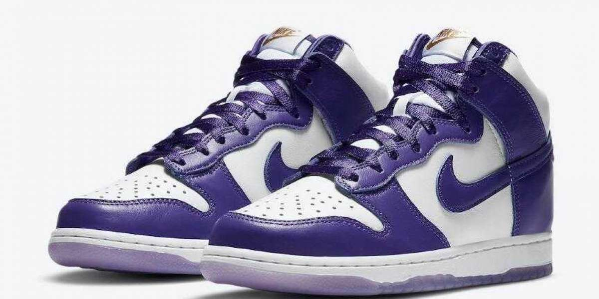 Nike Dunk High WMNS Varsity Purple to Release on December 3, 2020