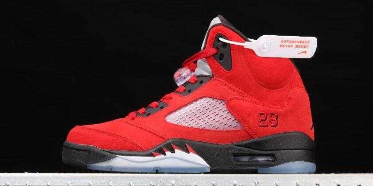 Air Jordan 5 Retro Raging Bull Red is Best Basketball Sneakers