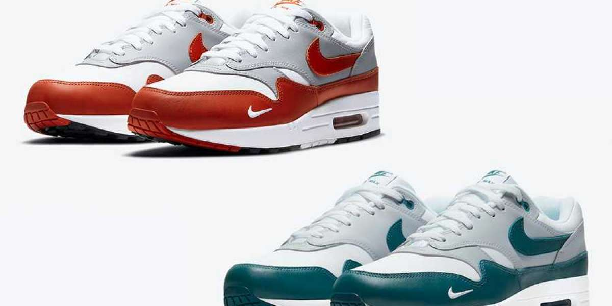 Air Max 1 has two new colors! Simple and elegant is very pleasing!