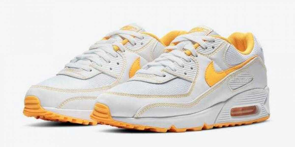 Nike Air Max 90 White Laser Orange to Arrive this Month Later