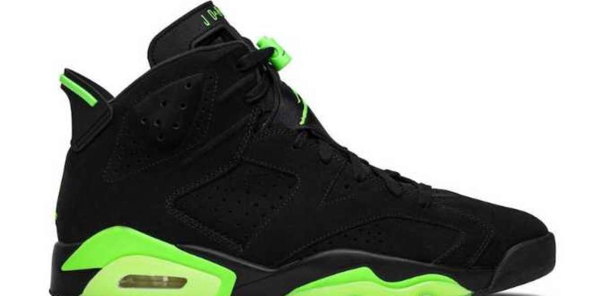 "CT8529-003 Air Jordan 6 ""Electric Green"" will be officially released on June 5"