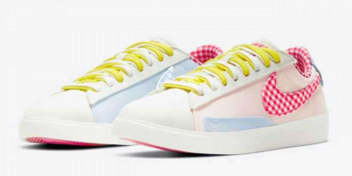 """2021 Nike Blazer Low LX """"Picnic"""" Women's Sneakers DJ5055-806"""