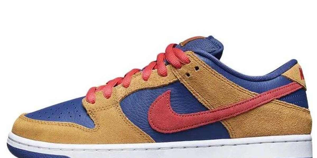 Nike SB Dunk Low BQ6817-700 Papa Bear is Best Walking Shoes for Summer