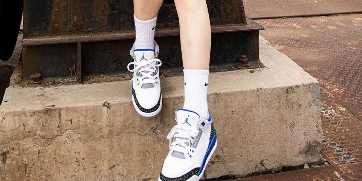 "Air Jordan 3 ""Racer Blue"" Basketball Shoes CT8532-145 Did you get it?"
