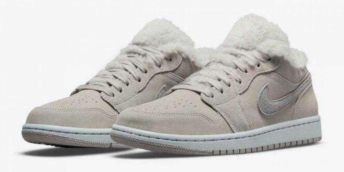 DO0750-002 Air Jordan 1 Low Sherpa Fleece Will Debut for Fall Season Soon
