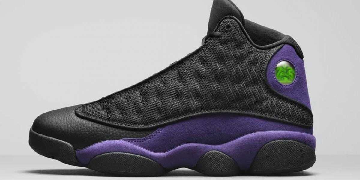 "Air Jordan 13 ""Court Purple"" Black/White-Court Purple DJ5982-015 will be released on December 29"